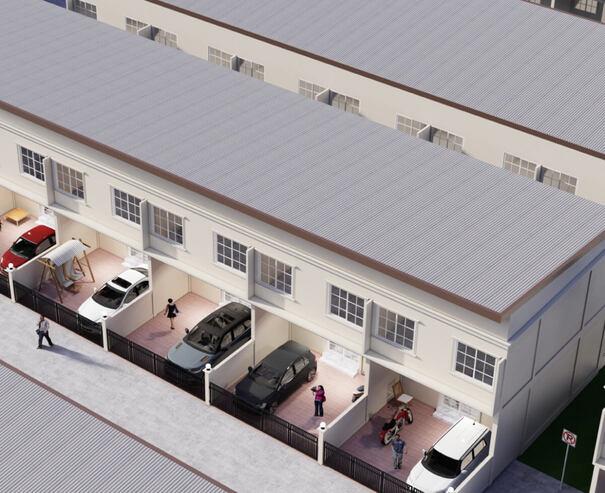 ทาวน์โฮม มิรารี่ บ้านแกร่ง ไม่ทรุด ตอกเสาเข็มลึกถึง 24 เมตร - โครงการบ้านมิรารี่ เพชรเกษม - กระทุ่มแบน